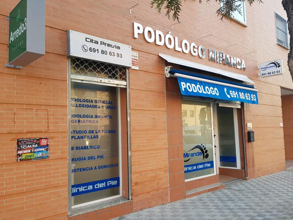 Clinica del Pie Miranda - Podologo Montequinto